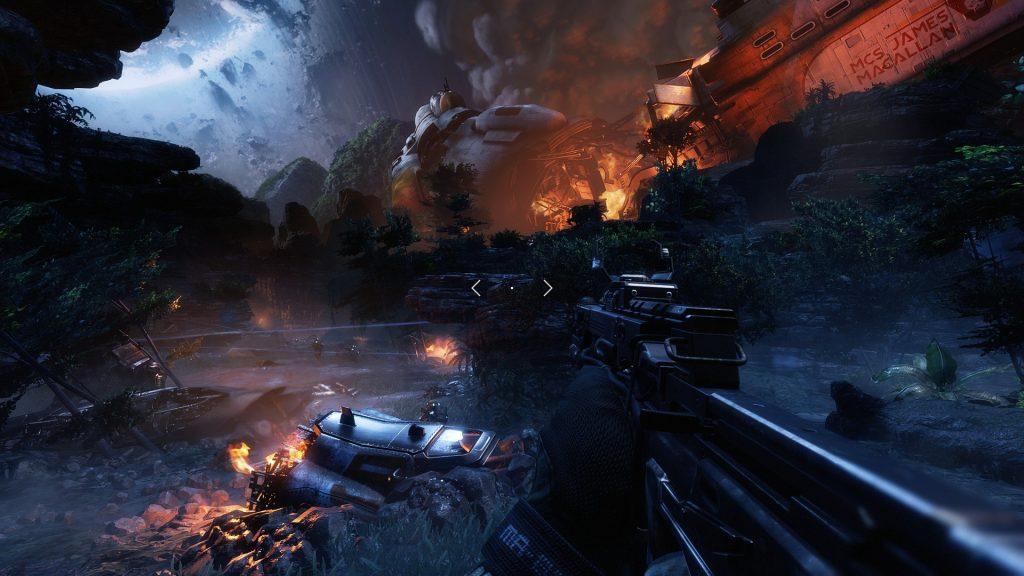 Posnetek zaslona iz igre