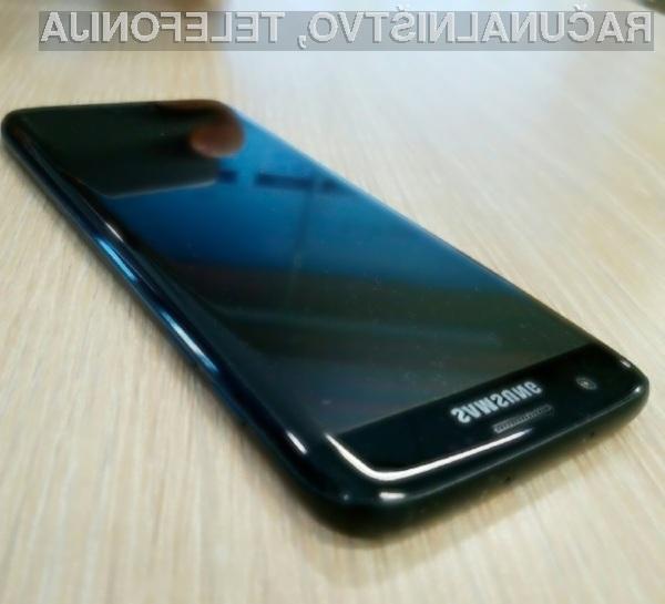 Povsem črno obarvani  Samsung Galaxy S7 »Jet Black« bo zlahka prepričal kupce!
