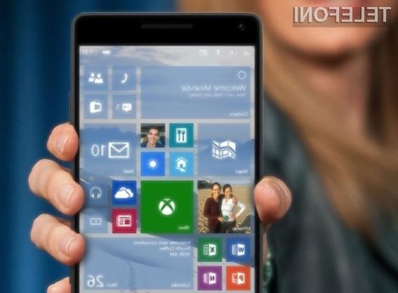 Windows 10 Mobile bo kmalu omogočal poganjanje aplikacij za osebne računalnike!