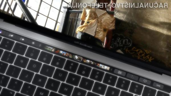 Novi Touch Bar bodo lahko uporabljali tudi tisti, ki prisegajo na Windows!