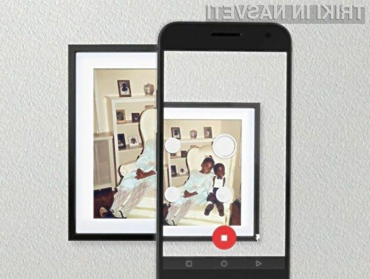 Z mobilno aplikacijo Google PhotoScan bo digitalizacija starih fotografiji pravi užitek!