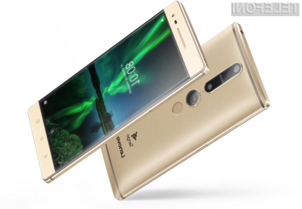 Pametni mobilni telefon Lenovo Phab2 Pro lahko »vidi« okolico tako kot običajni ljudje.