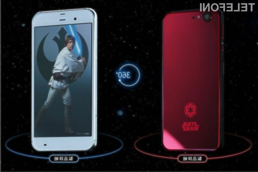 Ljubitelji vojni zvezd bodo novi telefon podjetja Softbank naravnost vzljubili!