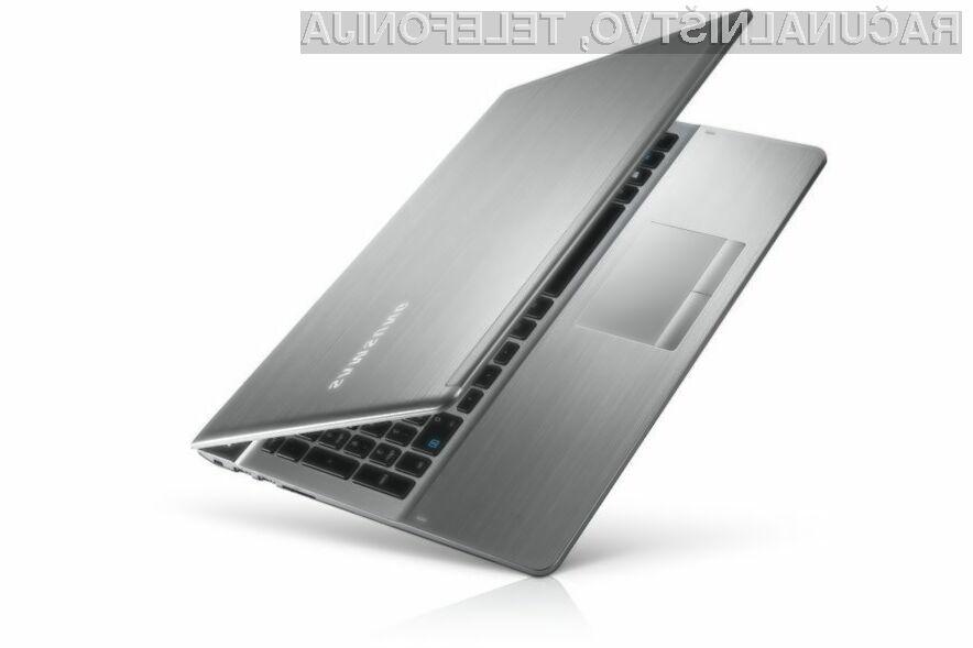 Podjetje Samsung naj bi obupalo nad proizvodnjo prenosnih računalnikov.