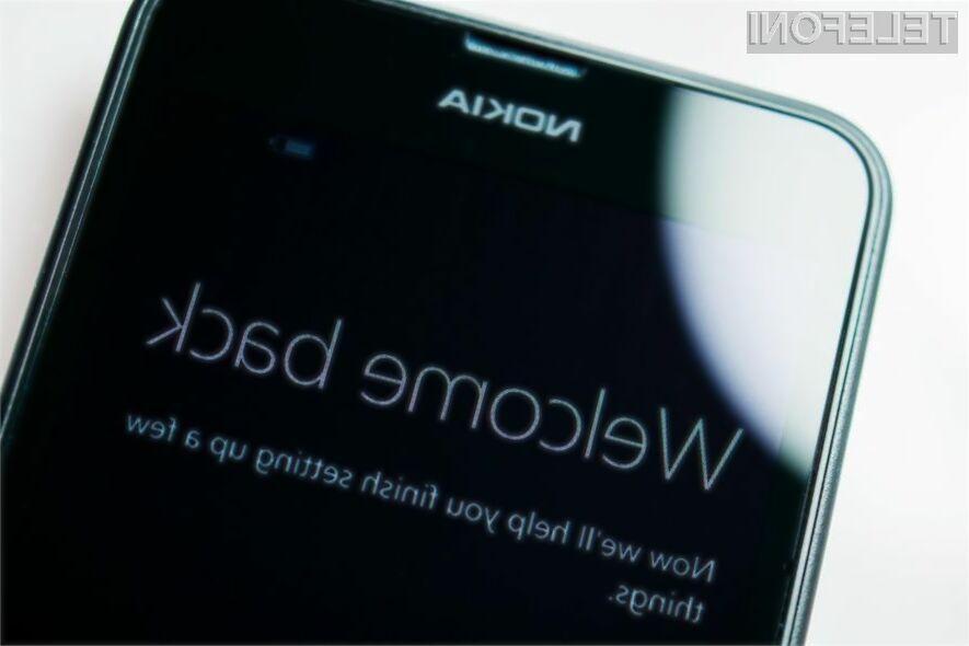 Telefone Nokia bomo lahko ponovno kupili v prvi polovici naslednjega leta!