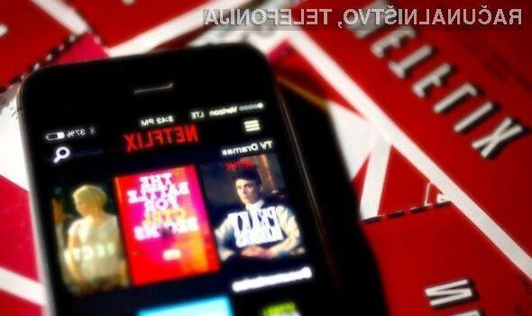 Določene vsebine na Netflixu lahko prenesemo na mobilno napravo z enim samim klikom!
