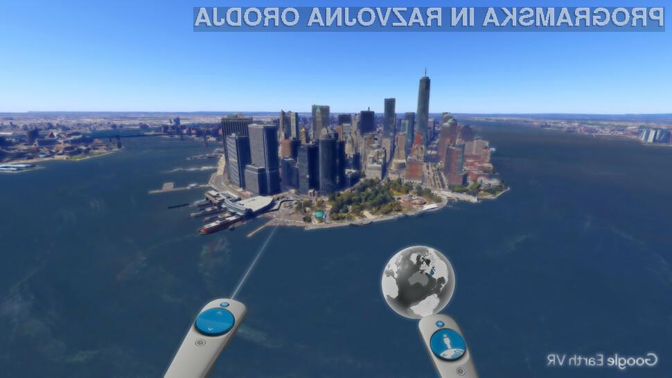 Google Earth VR - svet še nikoli ni bil tako resničen in blizu vas