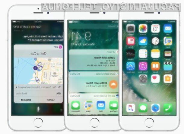 Že veste, kaj vam bo prinesel iOS 10.2?