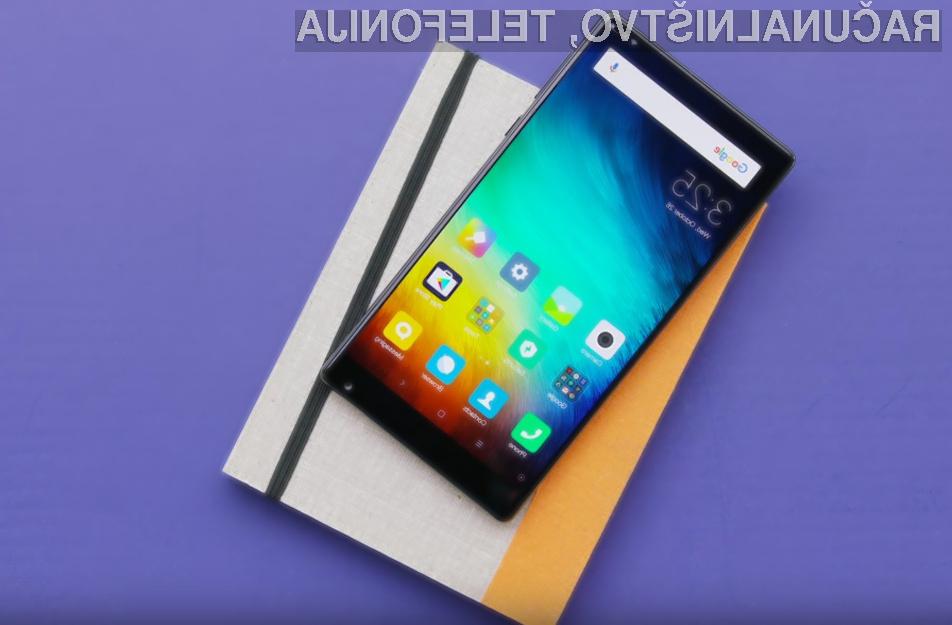Xiaomi Mi Mix je takoj prepričal uporabnike storitev mobilne telefonije!