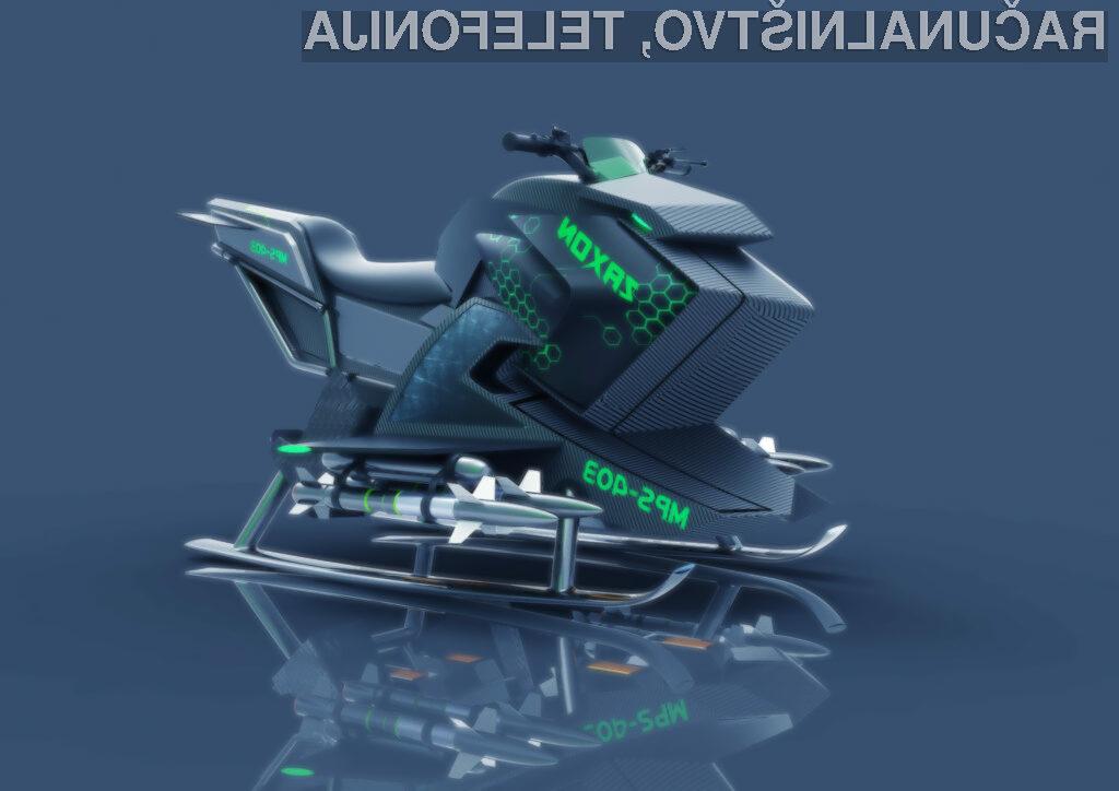 Ideja letečega motorja Zaxon - ne, ne gre za novi del Vojne Zvezd