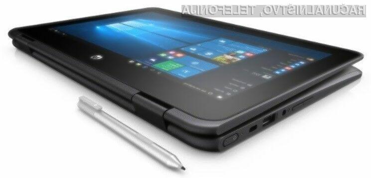 Prenosnik HP ProBook x360 odlikujeta večopravilnost in odpornost na udarce.