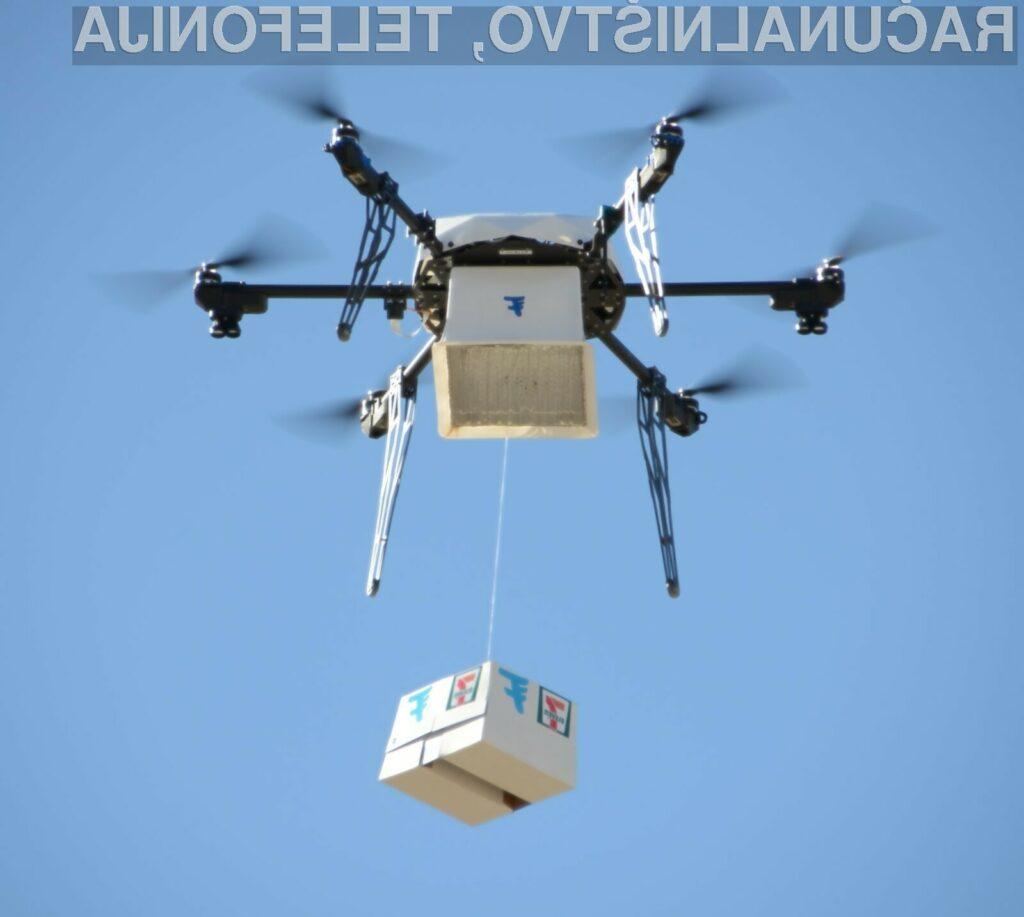 Kupci 7-Eleven so nad dostavo z droni več kot zadovoljeni!