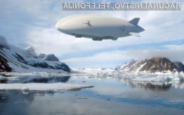 Amazon naj bi dostavo pohitril s pomočjo letečih skladišč in dronov!