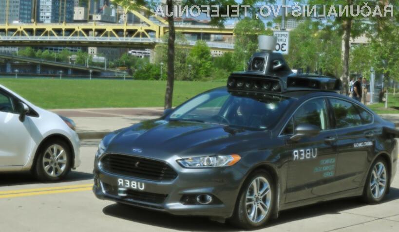 Uber preklical vsa samovozeča vozila