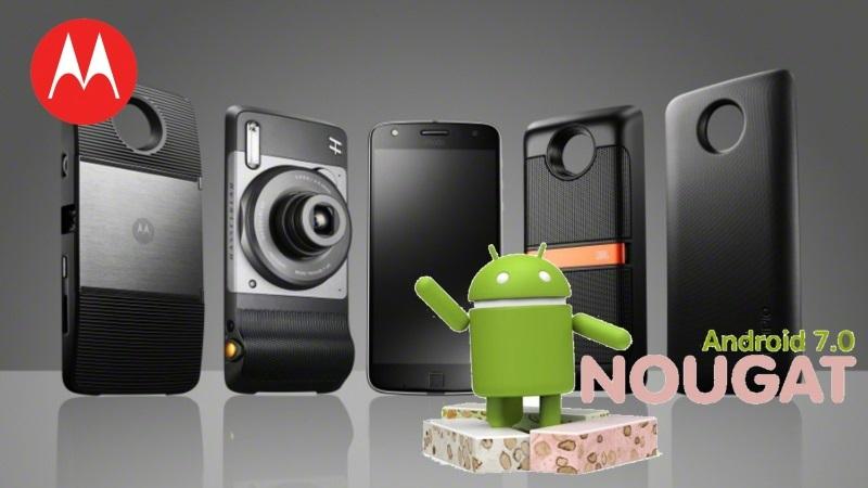 Pametni telefon Moto Z že dobil nadgradnjo sistema na Android™ 7.0 Nougat