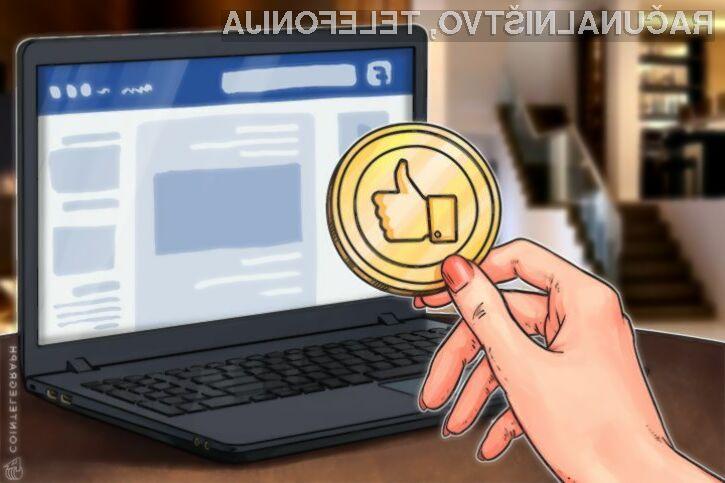 Facebook naj bi svoj plačilni sistem razkril naslednje leto!