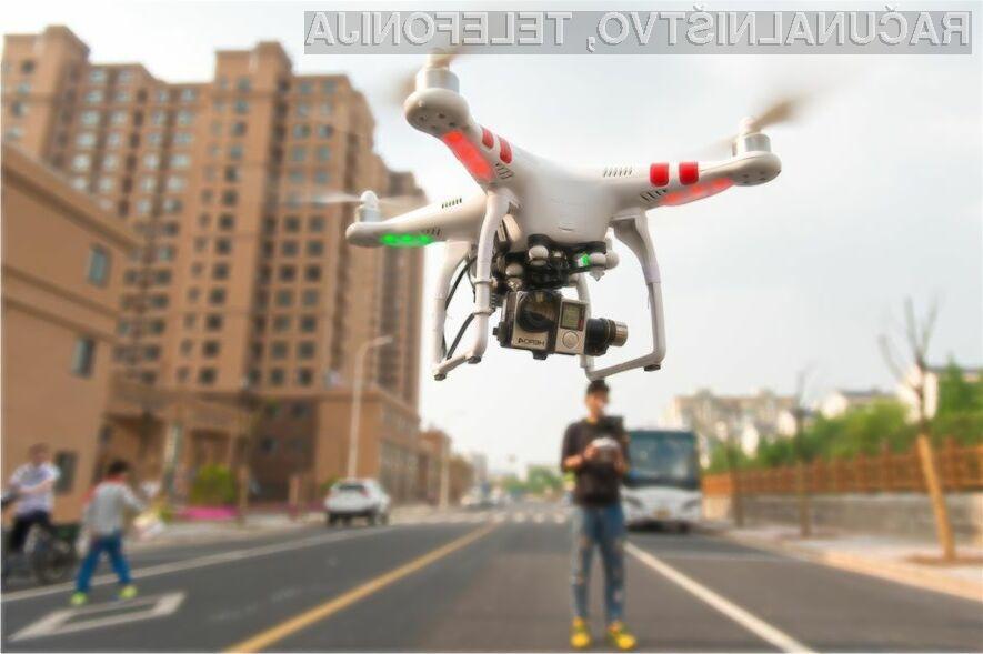 Zaradi ogrožanja varnosti bi lahko bili lastniki dronov zaprti do pet let!