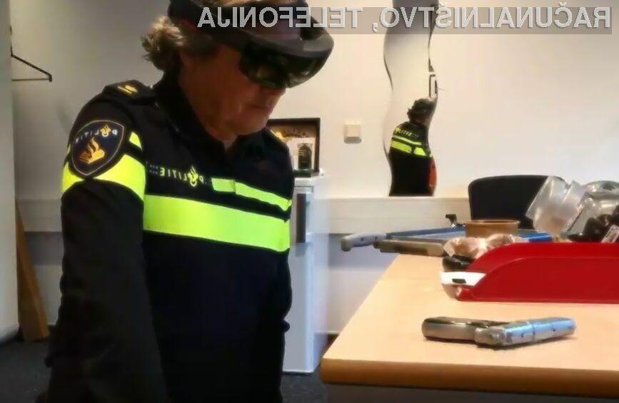 Očala za navidezno resničnost HoloLens bodo v pomoč pri razreševanju kriminalnih dejanj.