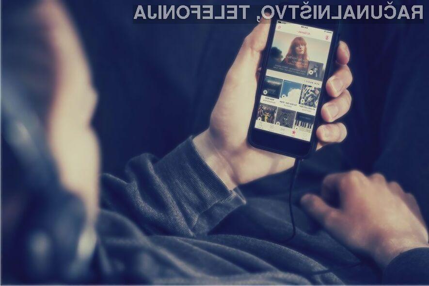 Storitev Apple Music je med ljubitelji glasbe zelo cenjena!