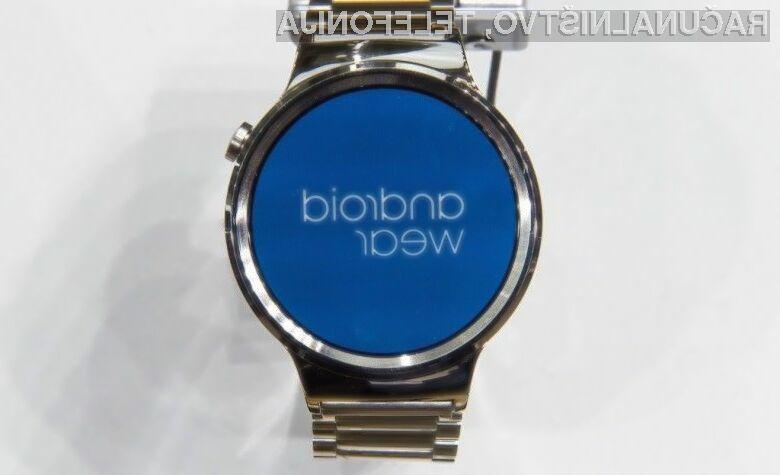Prvi pametni ročni uri na osnovi mobilne platforme Android Wear 2.0 bodo na voljo že januarja.