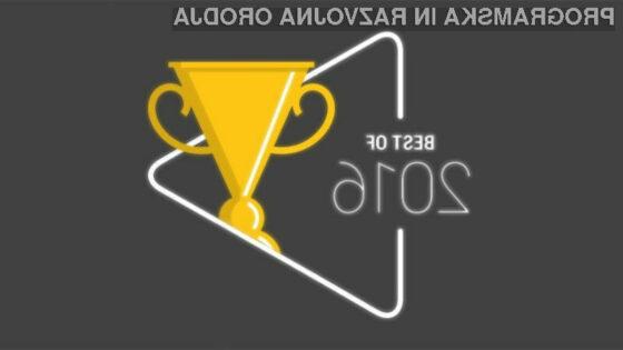 Google Play razkril najboljše aplikacije, igre, knjige, filme in serije leta 2016