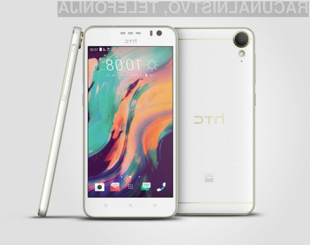 Novi HTC Desire 10 lifestyle odslej na voljo tudi v Sloveniji