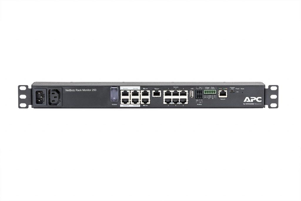 NetBotz 250: poenostavlja varnost in nadzor okolij podatkovnih centrov vseh velikosti