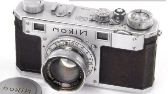 Najstarejši fotoaparat Nikon na dražbi prodan za vrtoglav znesek