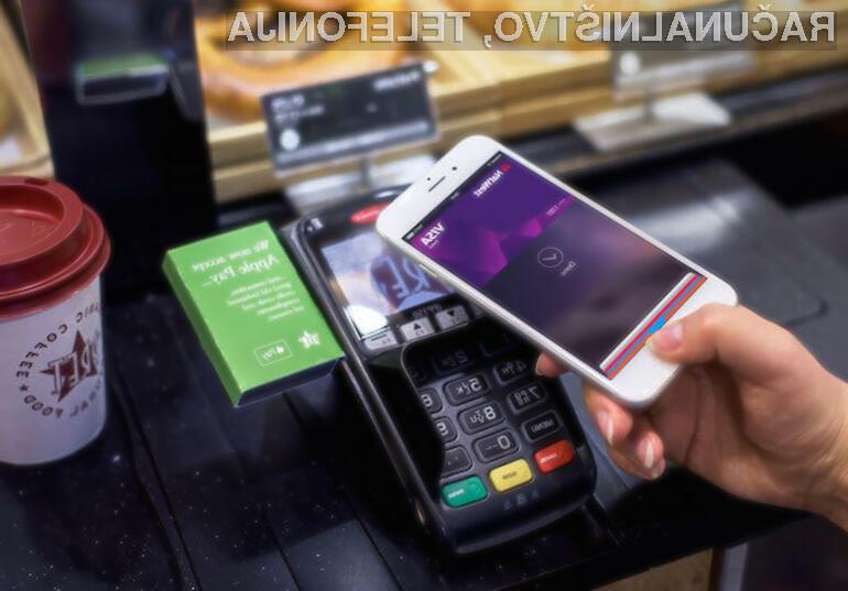 Mobilni plačilni sistem Apple Pay v ZDA preprosto nima konkurence!