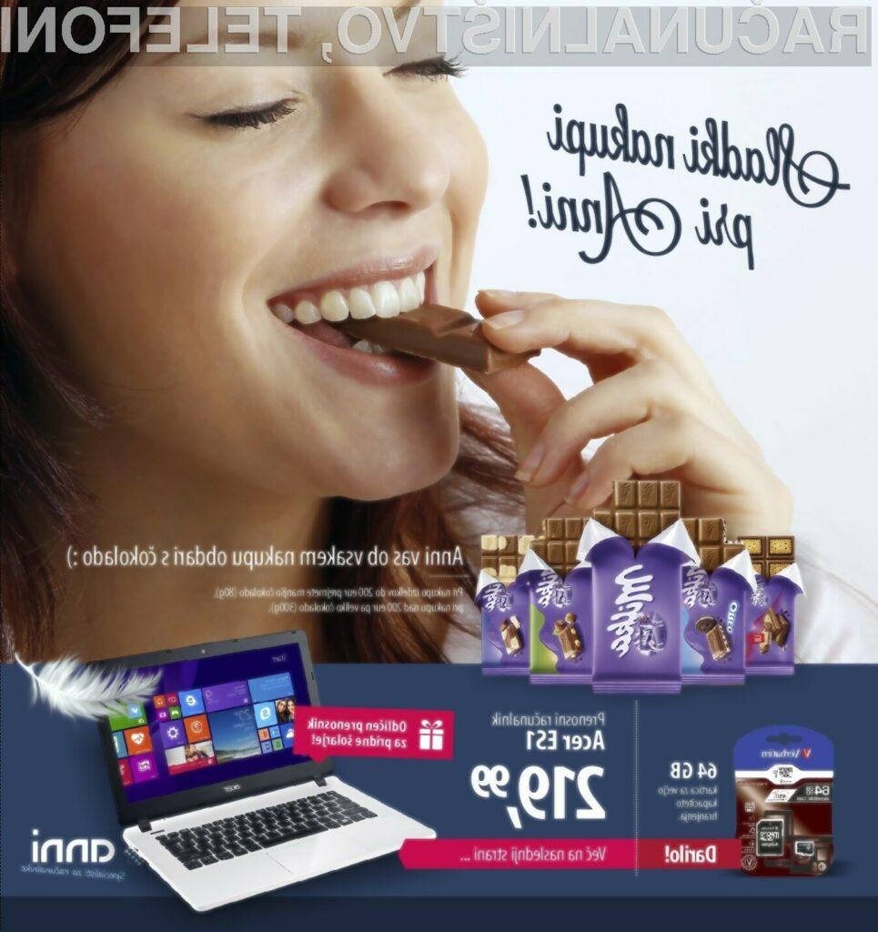 Kako gresta skupaj računalnik in čokolada?