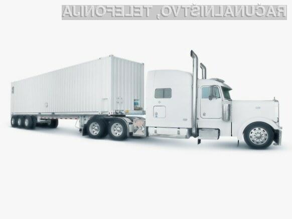 Amazon bo naše podatke vozil kar v tovornjaku
