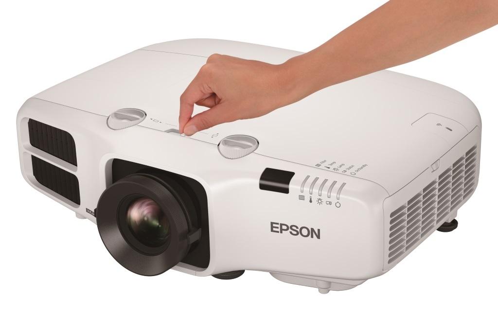 Epson z novimi instalacijskimi projektorji za podjetja in izobraževalne ustanove
