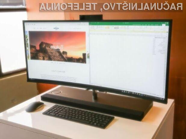Novi osebni računalnik vse-v-enem HP navdušuje tako po oblikovni kot po strojni plati!