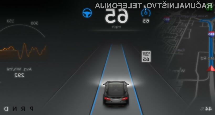 Avtopilot je odličen pripomoček za vožnjo, če je voznik pri vožnji vedno zbran!