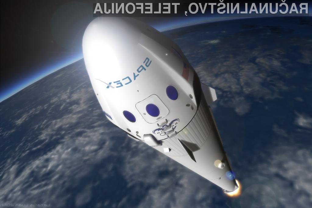 SpaceX znova v pogonu