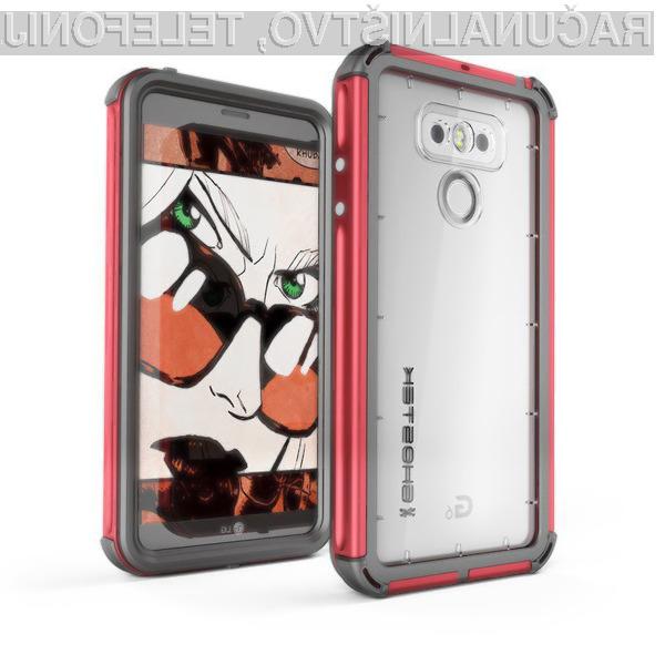 Pametni mobilni telefon LG G6 naj bi izgledal naravnost fantastično in nanj bi bil povsem uproaben!
