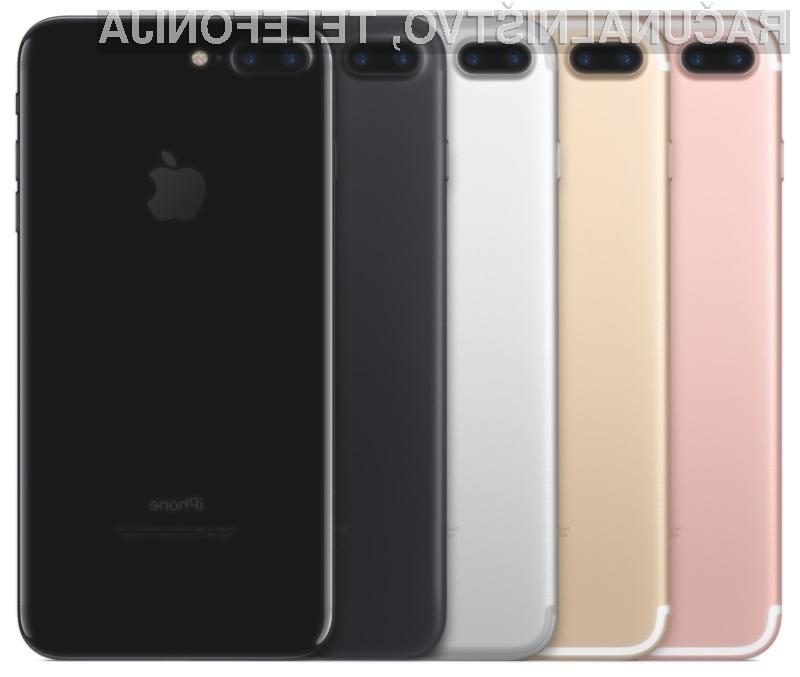 Pametni mobilni telefon iPhone 7 Plus je bil najzmogljivejši telefon v letu 2016!