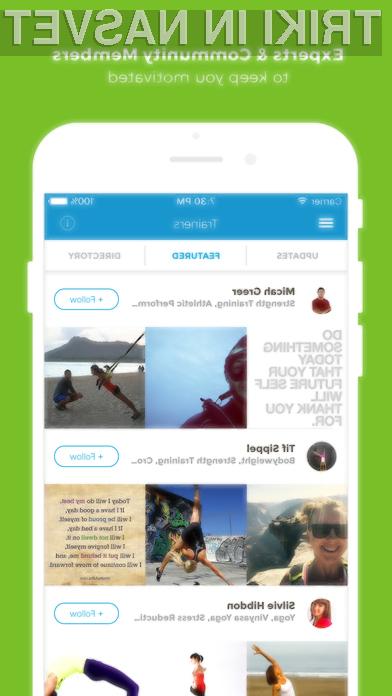Mobilna aplikacija Workout Trainer: fitness coach je ena izmed najboljših »spodbud« za zdravo in aktivno življenje!