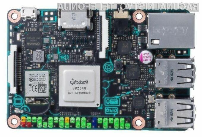 Kompaktni računalniški sistem Asus Tinker Board za nekoliko več denarja ponuja precej zmogljivo strojno opremo!