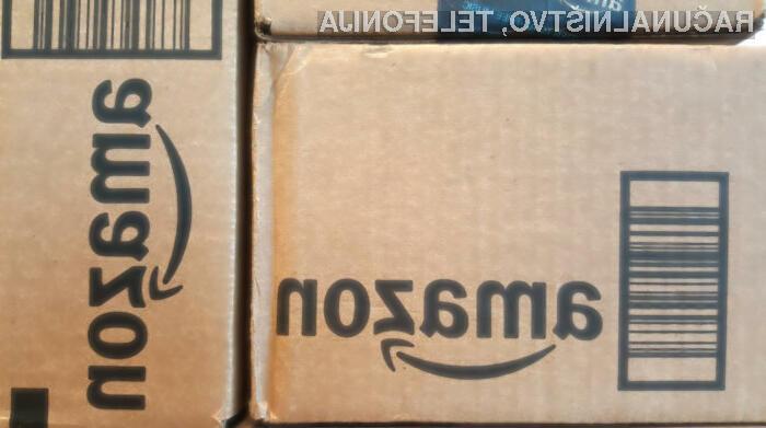 Amazon z dronom prvič dostavil paket v ZDA