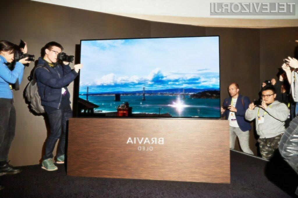 Sonyjeva prva OLED televizija vas bo navdušila
