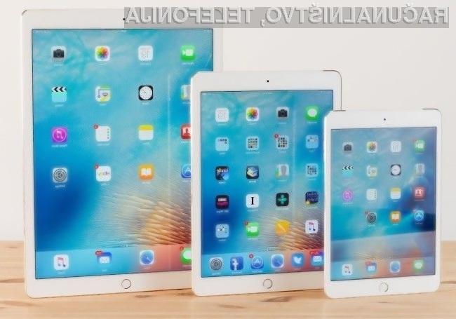 Na nove Applove tablične računalnike iPad se bo zagotovo splačalo počakati!