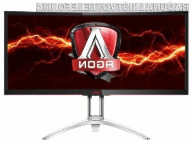 Računalniški zaslon AOC Agon je eden izmed najboljših na trgu za igranje iger in predvajanje večpredstavnostnih vsebin!