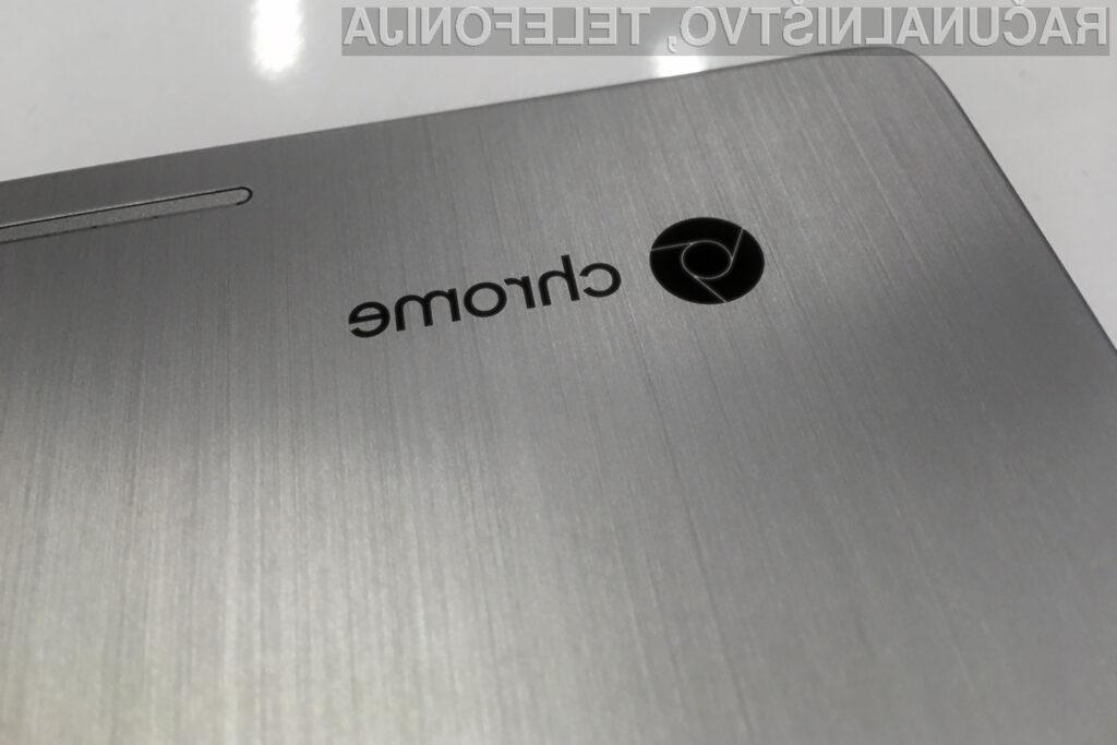 Vsi letošnji osebni računalniki Chromebook bodo podpirali apliakcije za mobilni operacijski sistem Android.