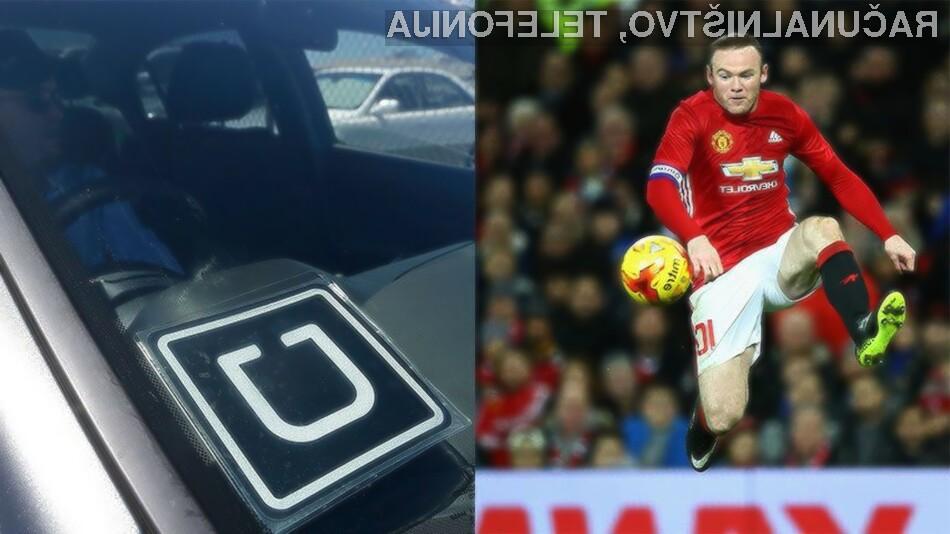 Uber in Manchester United postala partnerja