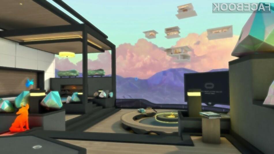 Oglejte si Facebook v virtualni resničnosti