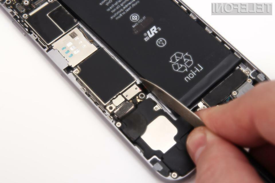 Baterije pametnih mobilnih telefonov bi lahko bile že kmalu opremljene s sredstvom proti vžigu!