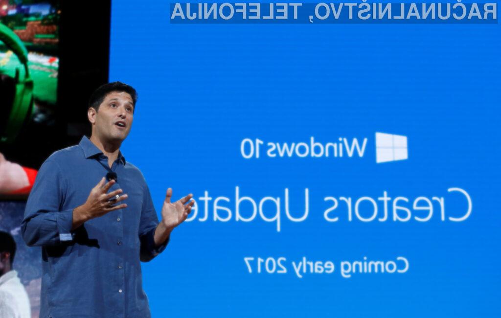 Posodobitev Creators Update bo uporabnikom operacijskega sistema Windows 10 prinesla veliko novih in uporabnih možnosti!