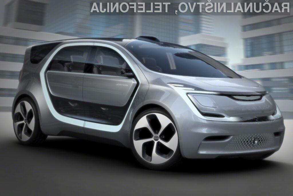 Električni avtomobil Chrysler Portal bo povsem pisan na kožo mladim voznikom!