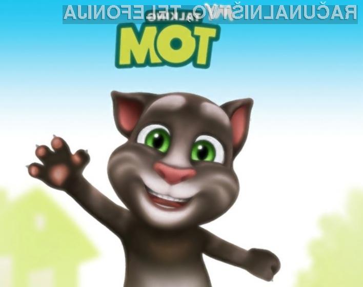 Govoreči maček Tom je za bajno vsoto denarja pristal v rokah Kitajcev!